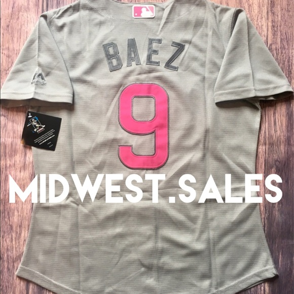 new concept f13f2 25e39 *NEW* Women's Javier Baez Chicago Cubs Jersey Boutique